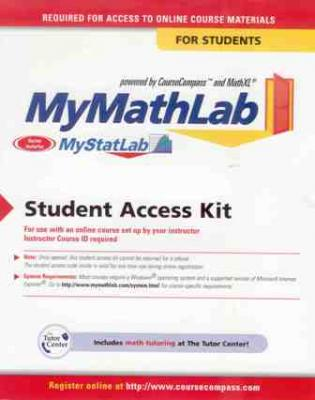 My Math Lab Student Access Kit