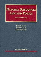 Natural Resources Law and Policy cover