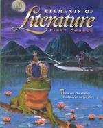 Elements of Literature First Course cover