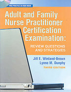 Adult and Family Nurse Practitioner Certification cover