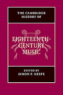 The Cambridge History of Eighteenth-century Music cover