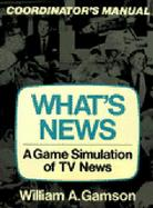 What's News: A Game Simulation of TV News cover