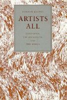 Artists All Creativity, the University, and the World cover