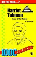 Harriet Tubman Moses of Her People cover