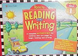Road to Reading and Writing-Mile 1 Fun Kit with Book and Poster and Other and Pens/Pencils and Postcard cover