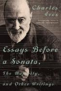 Essays Before a Sonata The Majority and Other Writings cover
