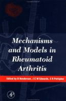 Mechanisms and Models in Rheumatoid Arthritis cover
