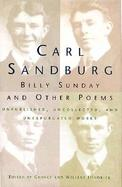 Billy Sunday and Other Poems cover