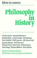 Philosophy in History: Essays in the Historiography of Philosophy cover