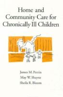 Home and Community Care for Chronically Ill Children cover