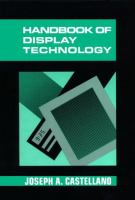 Handbook of Display Technology cover
