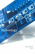 Technology and the Rest of Culture cover