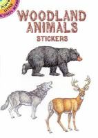 Woodland Animals Stickers cover