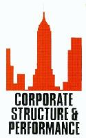 Corporate Structure and Performance: The Role of Owners, Managers, and Markets cover