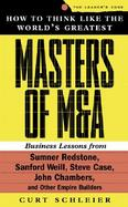 How to Think Like the World's Greatest Masters of M&A cover