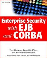 Enterprise Security with EJB and CORBA cover