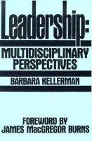 Leadership Multidisciplinary Perspectives cover