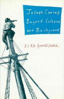 Joseph Conrad: Beyond Culture and Background cover