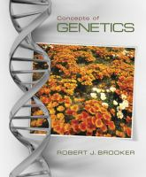 Loose Leaf Version for Concepts of Genetics cover