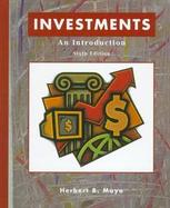 PKG:INVESTMENT AN INTRO 6E+ANAL SFWR cover