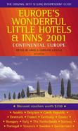 Europe's Wonderful Little Hotels and Inns 2001: Continental Europe cover