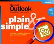 Microsoft Outlook Version 2002 Plain & Simple cover