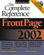 FrontPage 2002: The Complete Reference cover