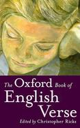 The Oxford Book of English Verse cover