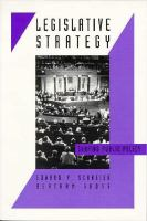 Legislative Strategy Shaping Public Policy cover