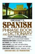 Grosset's Spanish Phrase Book and Dictionary cover