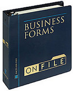 Business Forms on File: Every Form for Every Business, Large or Small cover