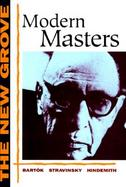 The New Grove Modern Masters cover