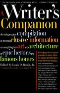 A Writer's Companion: A Handy Compendium of Useful But Hard-To-Find Information on History, Literature, Art, Science, Travel, Philosophy An. cover