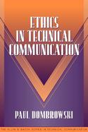 Ethics in Technical Communication (Part of the Allyn & Bacon Series in Technical Communication) cover