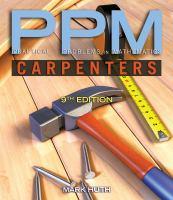 Practical Problems in Mathematics for Carpenters cover