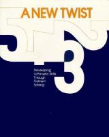 New Twist: Developing Arithmetic Skills Through Problem Solving cover