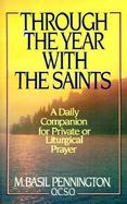 Through the Year With the Saints cover