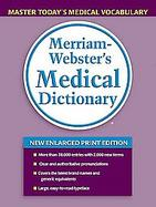 Merriam-webster's Medical Dictionary cover
