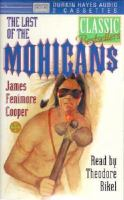 Last of the Mohicans cover