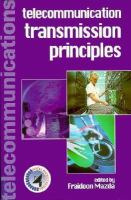 Telecommunication Transmission Principles cover