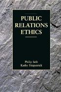 Public Relations Ethics cover