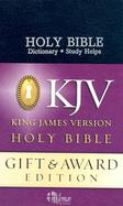 Gift and Award Bible cover