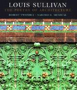 Louis Sullivan The Poetry of Architecture cover