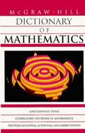 McGraw Hill Dictionary of Mathematics cover