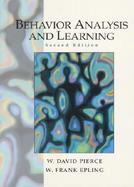 Behavior Analysis+learning cover