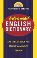 Random House Webster's Advanced English Dictionary cover