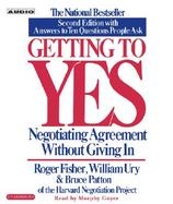 Getting to Yes Negotiating Agreement Without Giving in cover