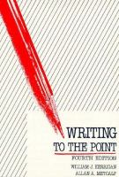 Writing to the Point cover