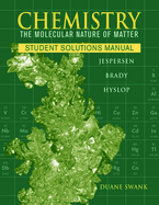 Chemistry, Student Solutions Manual : The Study of Matter and Its Changes cover