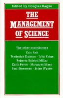 The Management of Science: Proceedings of Section F (Economics) of the British Association for the Advancement of Science, Shef cover